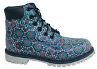 Timberland 6 Inch Junior Lace Up Multicoloured Waterproof Boots A1K5V D7