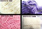 CLEARANCE 5 X YARDS / 480CM RIBBON BRAID LACE FOR HAIR CAKE CRAFT SALE