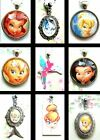 TINKERBELL DISNEY PENDANT NECKLACE FAIRIES SILVERMIST PERIWINKLE LOCKET