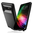 Black 5500mAh Capacity Extended Power Bank Juice Charging Case For Galaxy Note 8