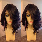 Natural Parting Bob Lace Front Wig 8A Malaysian Virgin Human Hair Wig 1B GF126