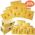 JIFFY BUBBLE Bags GENUINE Airkraft Gold Envelopes Mailers JL1 - 170mm x 245mm