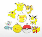 wholesale Mixed Pikachu elves Charms Pendants DIY Jewelry Making X-65