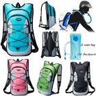 Cycling Bike Bicycle 12L Backpack + 2L Water Pack Hydration Bag Hiking travel