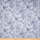 Benartex Frost by Kanvas 5689G 11 LAKE ICE SILVER BTY Cotton Fabric FREE US SHIP