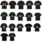 Sound Activated LED Light Up Short Sleeve T-shirt Dance Rave Party Top Tee Match