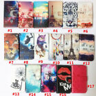 Mobile Phone Wallet Cover For Samsung Galaxy S5 5 PU Leather Flip Case