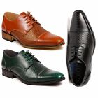 Mens Cap Toe Lace Up Oxford Classic Dress Shoes