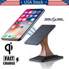 Unshakeable Qi Wireless Charger Charging Pad Stand For iPhone X 8 Plus Samsung S9 S8+