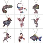 Fashion Fish Bird Animal Printing Pendant Necklace Women Jewelry Christmas Gift