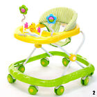 New Baby Walker Activity First Steps Music Melody Toy Car Adjustable Bright