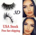 Lilly Miami 3D Full Strip Lashes 100% Real Siberian Mink Strip Eyelashes Beauty