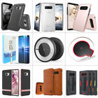 phone charger accessories - Wireless Charger+Phone Case+2pc Full Screen Protector for Galaxy S9/S8/+/Note 8