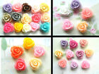 MINI ROSES NOVELTY FRIDGE MAGNETS SET OF 5/10/15 LIGHTWEIGHT DECORATIVE