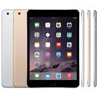 Apple 16GB iPad mini 3 Wi-Fi Only (Space Gray, Gold, Silver) With HD FaceTime