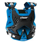 Thor 2017 Youth Sentinel GP Chest Protector - Black/Blue