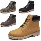 idomcats Oxford Chunky Mens Climbing Desert Designer Lace Up ankle Boots UK 6-12
