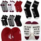 Two Pairs Unisex Socks If You Can Read This Bring Me a Glass of Wine Beer Black