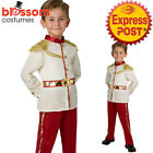 CK1078 Prince Charming Boys Costume Disney Storybook Fairytale Book Week Outfit