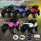 Kids Electric Ride on Jeep Toys Car Remote Control Off Road w/Built-in Songs 12V