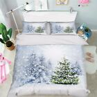 3D Xmas Tree 236 Bed Pillowcases Quilt Duvet Cover Set Single Queen King Size AU