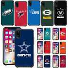 Apple iPhone X - Official NFL Fan Case Pebble Shockproof Impact Armor Hard Cover