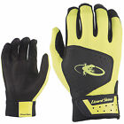 New Lizard Skins Komodo Batting Gloves (1 Pair) Neon Yellow KOM182