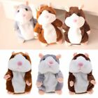 Talking Hamster Mouse Pet Plush Toy Cute Speak Sound Record for Baby Xmas Gifts