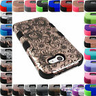 FOR SAMSUNG GALAXY J7 2017 TUFF ARMOR CASE DUAL LAYER SHOCK COVER+STYLUS
