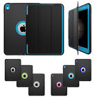 Hybrid Heavy Duty Shockproof Stand Flip Smart Case Cover For iPad / Air / Mini