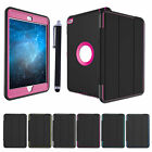 Heavy Shockproof Leather Smart Stand Lot Case Cover for iPad 2 3 4 5/Mini /Pro