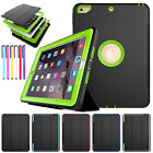Heavy Duty Shockproof Hard Armor Smart Stand Case Cover For iPad 2 3 4/Pro 10.5