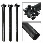 Carbon Fiber Mountain Road Bike Seatpost Bicycle Seat Post Tube 27.2/30.8/31.6mm
