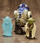 Kotobukiya SW95 ARTFX+ STAR WARS DAGOBAH YODA R2-D2 + SPIRIT EXCLUSIVE SET NEW $13.51 CAD