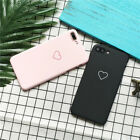 US Love Heart Soft Phone Case Cover Girl iphone iphone6/7/X Protector Case Cover