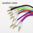 Lot 1M 3.5mm Male to Male Car Aux Auxiliary Cord Stereo Audio Cable for Phone