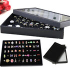 100 Holes Earring Ring Jewellery Display Storage Box Tray Case Organiser Holder