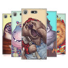 HEAD CASE DESIGNS ANIMAL PLAY SOFT GEL CASE FOR SONY XPERIA XZ1 COMPACT