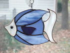 Handmade Stained Glass Tropical BIG FISH SUNCATCHER (F49)