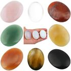 Oval Palm Worry Stone Pocket Healing Balancing Energy Crystal Therapy Gemstone