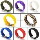 Outdoor Hiking Emergency Paracord Survival Bracelet Umbrella Rope Wrist N4U8