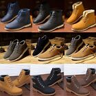 2017 Men Winter Ankle Martin Boots Leather Shoes Fur Lined Casual Sneakers P1