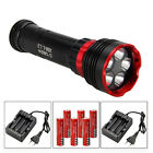 Diving 20000LM 5xXML L2 LED SCUBA Underwater 100m Flashlight Torch Light 6*18650