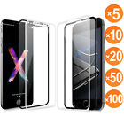 Wholesale 3D Full Coverage Tempered Glass Telly Protector For iPhone X/8/7 Plus