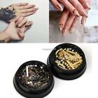 Shiny Glitter Manicure Steel Nail Sequins Water Decal N4U8
