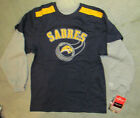 Buffalo Sabres Reebok Youth Childs L/S Shirt NWT  NHL Hockey Sm Lg XL 27