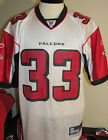 Atlanta Falcons White Football Jersey Reebok Med Lg XL NWT New 12