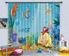 3D Baby Sea 303 Blockout Photo Curtain Printing Curtains Drapes Fabric Window AU