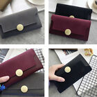 Ladies Purse Wallets Girl Card Holder Long Frosted Wallet W/ Cell Phone Pocket