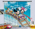 3D Funny Park 3 Blockout Photo Curtain Printing Curtains Drapes Fabric Window AU